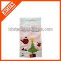 Superior de la venta nueva fleece bolsa de regalo navidad