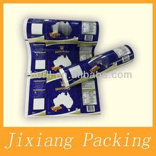 gravure printing and laminated plastic flexible packaging printing film