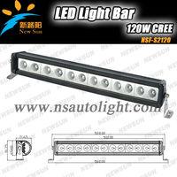 """22"""" 120W Waterproof Aluminum Housing LED Light Bar Used In Marine 12 volt 24volt Front Headlight Boat led light bars for Trucks"""