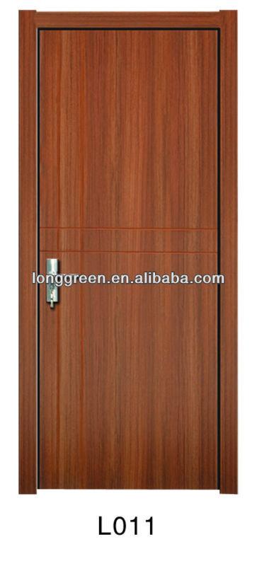 L011 simple design teak wood main door models view teak for Main door model