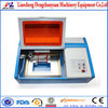 small low cost co2 40W laser rubber stamp machine