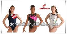 manufacture full sublimation gymnastics uniform in gymnastics wear,calisthenics wear,aerobics uniform in gymnastics clothing