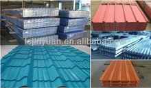 antique color coated steel roof tile modern design