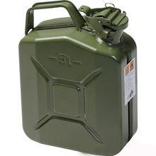 5L Jerrycan Military Gas Diesel Fuel Steel Tank