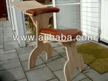 Suitable for students wooden foldable LapTop Desk