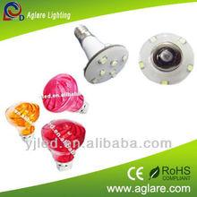 E10 60v auto color changing leds amusement fair light
