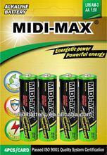 AA MIDI-MAX alkaline Dry battery 1.5v