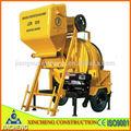 Jzr350 diesel de mezclador de cemento
