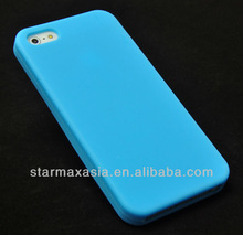Colourful Silicone Cover Skin Case For iPhone 5S