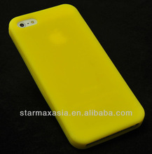 Slim Design Soft Silicone Back Cover Case For iPhone 5S
