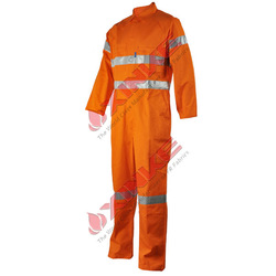 protective safety FR yellow overalls for oil and gas industry
