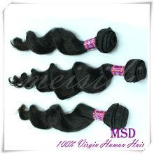 wholesale brazilian hair weft beautiful machine made hair weave