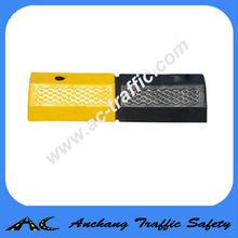Yellow Black Road Wheel Stopper