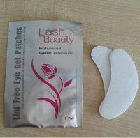 Free sample lint free eyelash extension eye pads