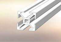 25x25 industrial aluminium sigma profile