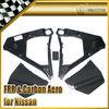 For Nissan R35 GTR OEM Carbon Fiber Engine Compartment Cover Set