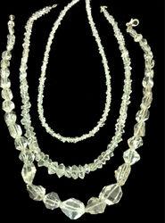 Herkimer Diamond Quartz 16 inch Strand