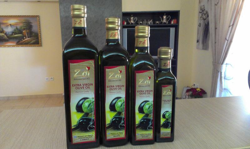 Zoi extra virgin olive oil