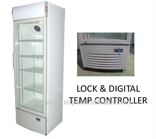 Chiller display chiller 1 door with digital temp control for 1 door display chiller