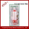 5 nozzles plastic cake decorating Syringe set