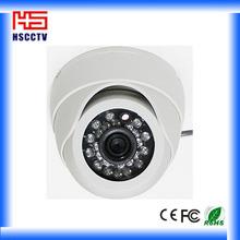 24pcs ir leds vandalproof plastic cctv 3.6mm lens 420tvl cctv dome camera