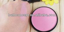Pink color Shimmer makeup blush/natural blush cosmetics