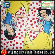 100% polyester knitted fabrics/princess printing fabric