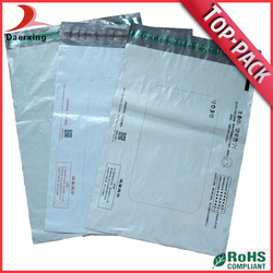 2014 plastic waterproof mail bags for packing