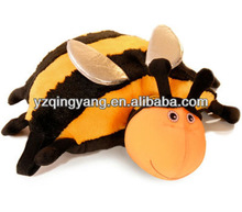Fast delivery and high quality cute and soft plush bee pillow toys