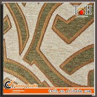 Woven Jacquard Designer Chenille Fabric Sofa