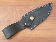 damasco facas bainha de couro