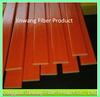 Orange Colored Flat Fiberglass Sheet/Strip
