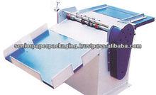 Rotary Sticker Half Cutting, Micro Perforation Cum Cover Creasing Machine