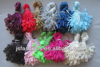 Ready stock Fashion universal garment plastic string tag with different colors for option wholesale and retail