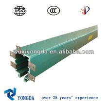 powerail multi-pole copper conductor bars system