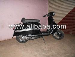 Lambretta GP 200 CC WITH DISK BRAKE ( BLACK)