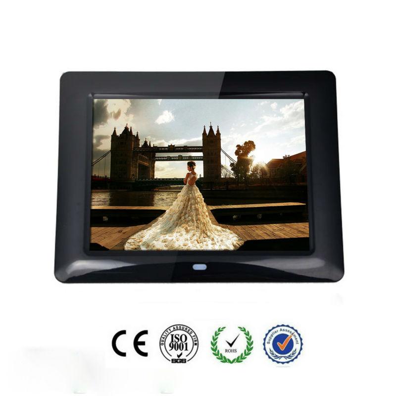 7 inch multi-functional lcd digital media advertising photo frame