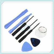 mobile phone repair tool kit 8 in 1 REPAIR PRY KIT OPENING TOOLS With 5 Point Star Pentalobe Torx Screwdriver