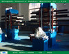 interlocking/square/hexagon tiles production line/ rubber tile making press