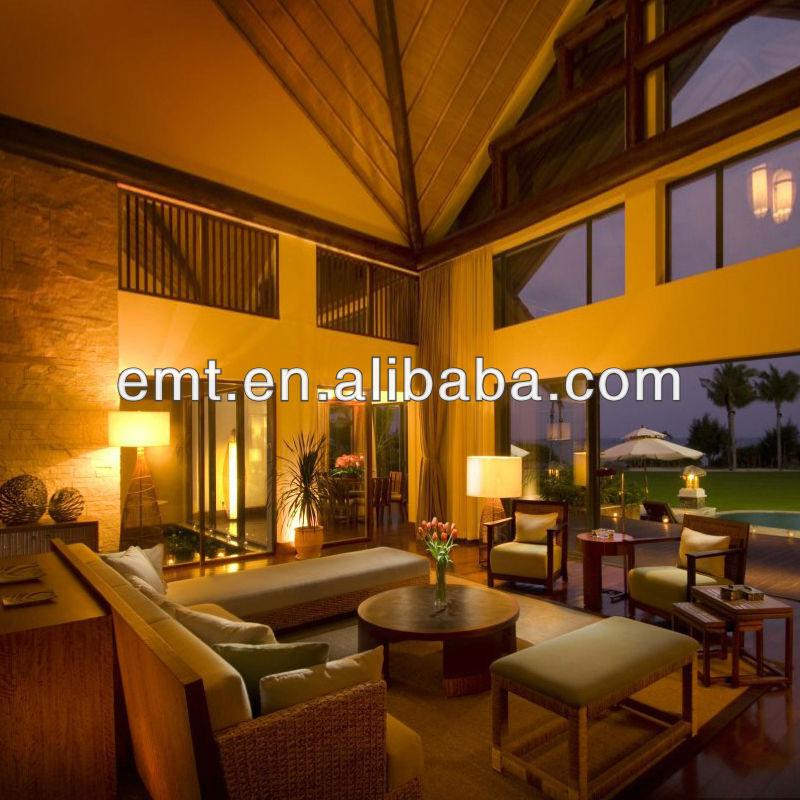 Gelbes licht American style wohnzimmer Zimmer modern dahli ...