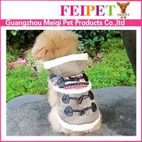 Europe style dogs apparel/Monkey design pet coat