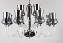2014 luxury modern black glass chandeliers for Kazakhstan ETL84200