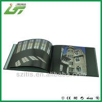 soft cover china epc mini book with company logo