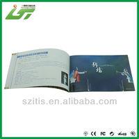 simple design a4 portfolio book with logo UV
