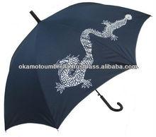 Japanese kimono umbrella for men printed dragon