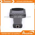 3.5 pulgadas de mano probador de circuito cerrado de televisión pro dc12v con salida de cable de prueba