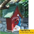colorido de aves antiguos diseños de la casa