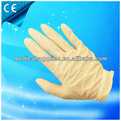 surgical gloves latex/powder free latex gloves/non sterile latex gloves