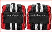 ağırlık kaldırma eğitim bilek desteği sarar spor bandaj askıları siyah tek bir satış