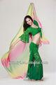 barato cordón de danza del vientre práctica vestido de traje para las mujeres bailarín